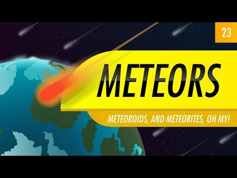 Meteors: Crash Course Astronomy #23