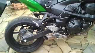 Z 750 diabo verde apresentação