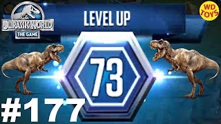 getlinkyoutube.com-Jurassic World - The Game Episode 177 Battle Stage 73 Dinosaurs Ludia  vs Indominus Gameplay HD
