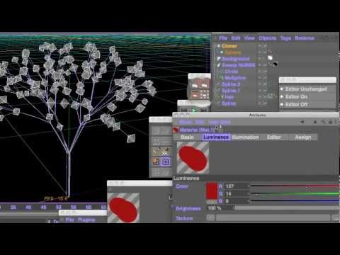 How to make trees with MoSplines