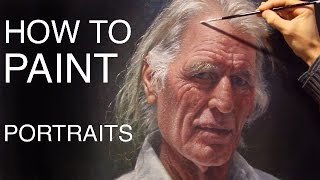 getlinkyoutube.com-How To Paint Portraits: EPISODE ONE - Russell Petherbridge's Portrait