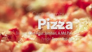 getlinkyoutube.com-Dapur Yufid: Cara Membuat Pizza (Resep Pizza Udang dan Tuna)