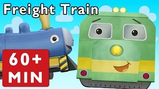 getlinkyoutube.com-Freight Train and More | Nursery Rhymes from Mother Goose Club!