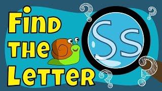 getlinkyoutube.com-Alphabet Games | Find the Letter S