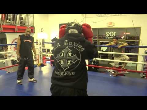 camp harder sparrring @ other gyms  boxing