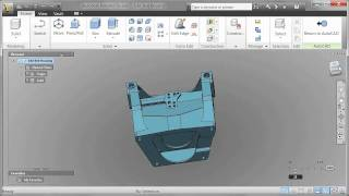getlinkyoutube.com-Autodesk Inventor Fusion 2012 Basics from AutoCAD 2012