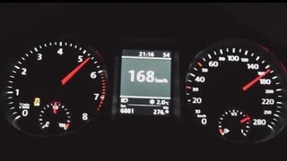 getlinkyoutube.com-2013 Volkswagen CC 3.6 V6 4 Motion 300 HP 0-100 km/h & 0-100 mph Acceleration