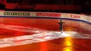 getlinkyoutube.com-宇野昌磨選手のエキシビション!天地逆転が直せないままでしたが …その後、回転しました!!!