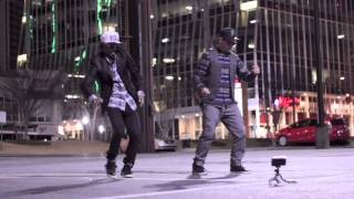getlinkyoutube.com-Best Robot Dance Ever Street Performer