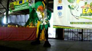 getlinkyoutube.com-EAT JAMAICA : Doctor Bird Mascot