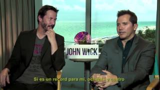 getlinkyoutube.com-Entrevista conKeanu Reeves yJohn Leguizamode la película 'John Wick' VIDEO