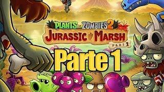 getlinkyoutube.com-Plants vs Zombies 2 - Parte 1 Pantano del Jurasico - Español
