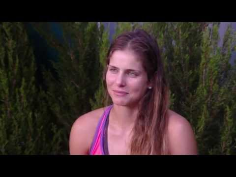 Julia Goerges interview (3R) - Australian Open 2015