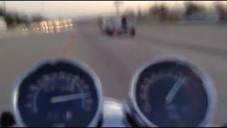 getlinkyoutube.com-Honda Magna VF750C - 130MPH