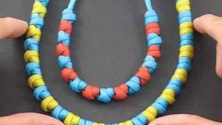 getlinkyoutube.com-How to Tie Paracord Prayer Beads by TIAT