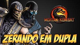 getlinkyoutube.com-Zerando em Dupla   Scorpion e Sub Zero Mortal Kombat