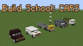 getlinkyoutube.com-Minecraft Build School: Cars!