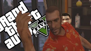 AS AVENTURAS DE NIKO BELLIC - GTA V MACHINIMA