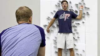 Card Throwing Trick Shots | Dude Perfect width=