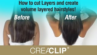 getlinkyoutube.com-How to cut Layers and create volume layered hairstyles!