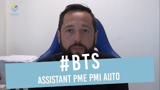 BTS ASSISTANT PME PMI AUTO : Un exemple de carrière professionnelle
