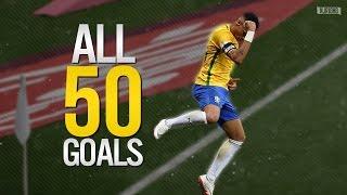 getlinkyoutube.com-Neymar Jr ● ALL 50 GOALS FOR BRAZIL | 2010-2016 HD