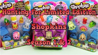 getlinkyoutube.com-SHOPKINS Season 1 & 2 5 Packs The Hunt For Limited Edition - Surprise Egg and Toy Collector SETC