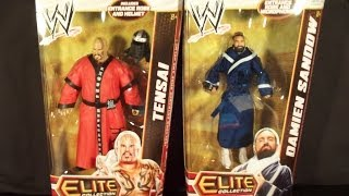 wwe elite series 22 and mattel basic action figures haul