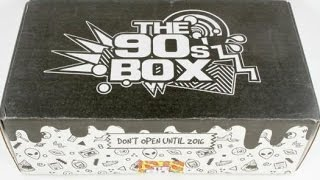 getlinkyoutube.com-The 90's Box March 2016 Subscription Box Unboxing & $5 Coupon #the90sbox