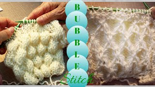 getlinkyoutube.com-3D Bubble Knitted Stitch