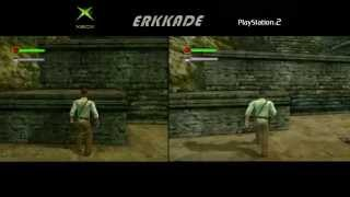 getlinkyoutube.com-Indiana Jones and the Emperor's Tomb Comparison Xbox vs PS2