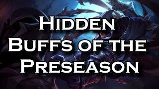 getlinkyoutube.com-The Hidden Buffs of the Preseason (Patch 5.22) | League of Legends