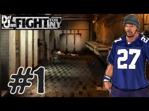 Def Jam: Fight for NY : Redman Vs Mecca Playthrough w/ Black