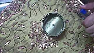 getlinkyoutube.com-طريقة عمل شمعة من بقايا الزيت المستعمل في المنزل