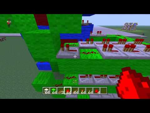 MC Piston Car Elevator Tutorial Part 2 XBOX and PC 1/2013 Up and Down Best Elevator