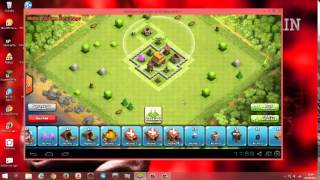 getlinkyoutube.com-Faire un village hybride HDV 4 clash of clans.
