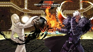 getlinkyoutube.com-[KOF Memorial Lv.2 SP] Saiki Human vs Krizalid