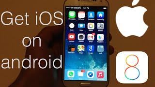 getlinkyoutube.com-How to make your android look like iOS 8 WORKS ON ANY DEVICE!!!