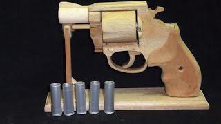 getlinkyoutube.com-リボルバータイプの輪ゴム銃を作ってみた。S&W M37