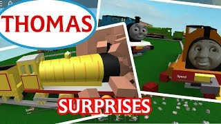 getlinkyoutube.com-Thomas and Friends Roblox Accidents : Surprises