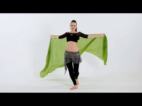 How to Use Belly Dancing Veils | Belly Dancing