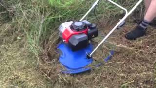 getlinkyoutube.com-Phoenix hover mower cutting long grass