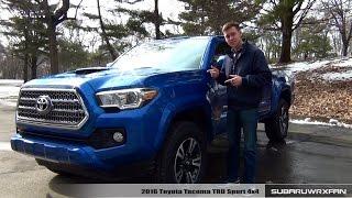 getlinkyoutube.com-Review: 2016 Toyota Tacoma TRD Sport 4x4