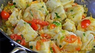 getlinkyoutube.com-Yam With Stewed Saltfish #TastyTuesdays | CaribbeanPot.com