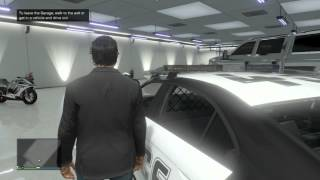 getlinkyoutube.com-GTA V ONLINE: How To INSURE ANY VEHICLE AND PUT IT IN YOUR GARAGE! (OWN Cop Cars, Fire Trucks etc.)
