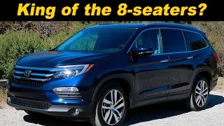 getlinkyoutube.com-2016 Honda Pilot Review - DETAILED in 4K