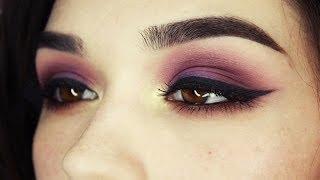 getlinkyoutube.com-purple/gold/brown eye makeup tutorial