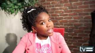 getlinkyoutube.com-Trinitee Stokes Interview - K.C. Undercover (Disney Channel)