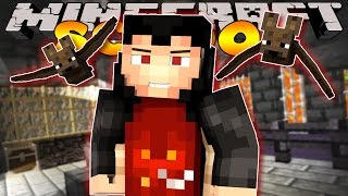 getlinkyoutube.com-Minecraft School - VISITING HALLOWEEN TOWN - MEETING DRACULA #2