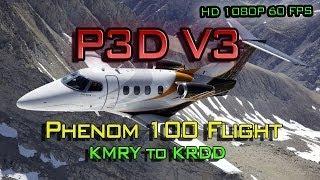 getlinkyoutube.com-Prepar3d (P3D) - V3 - N. Cali Flight - Orbx/Carenado/UT2 and much more